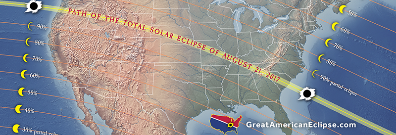 Total solar eclipse of Aug 21, 2017, the Great American Eclipse